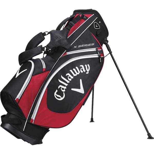 Callaway X-series Stand Bag Golfkärryt & bägit BLACK/RED/WHITE (Sizes: No Size)