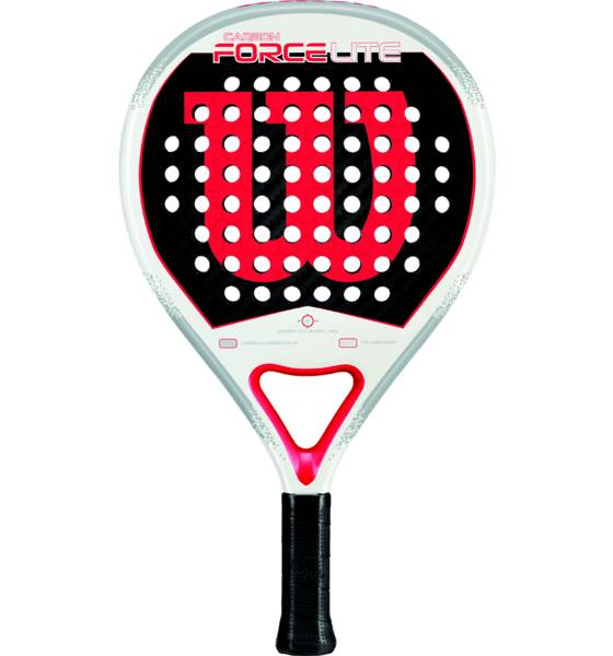 Wilson Padel Wilson Carb Force L Padel WHITE/RED (Sizes: No Size)