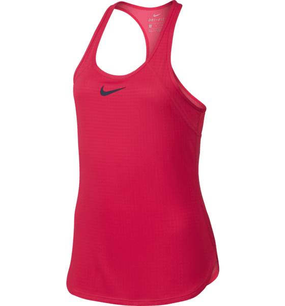 Nike Tennis Nike G Dry Slam Tank ACTION RED/MIDNIGH (Sizes: JR L)
