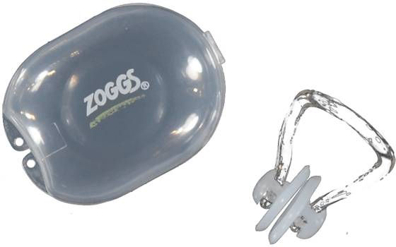 Zoggs Uintitarvikkeet Zoggs Nose Clip WHITE (Sizes: One size)