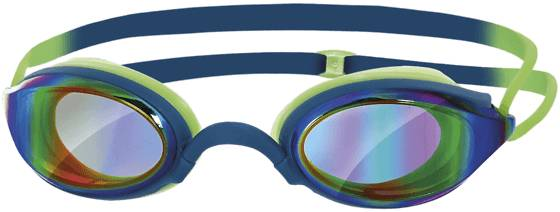 Zoggs Uintitarvikkeet Zoggs Fusion Air Gold Mirror BLUE (Sizes: No Size)