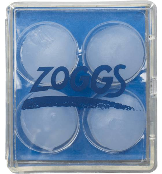 Zoggs Uintitarvikkeet Zoggs Silicone Ear Plg CLEAR (Sizes: One size)