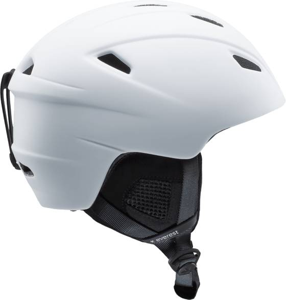 Everest Laskettelukypärät Everest U Alpine Hlm WHITE/WHITE (Sizes: 58-61)