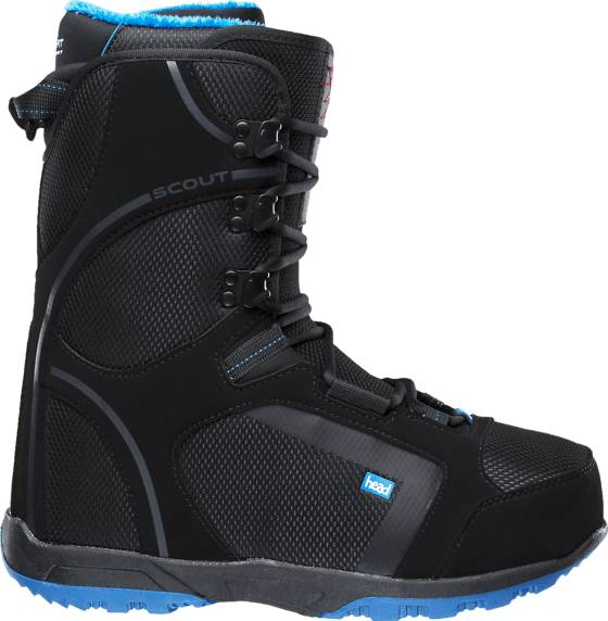 Head Lumilautakengät Head U Scout Pro Lace BLACK/BLUE (Sizes: 24.5)