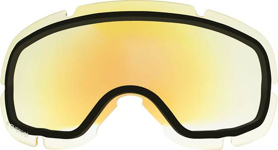 Everest Laskettelukypärät Everest Spare Lens S G Jr YELLOW WITH BLUE R (Sizes: One size)