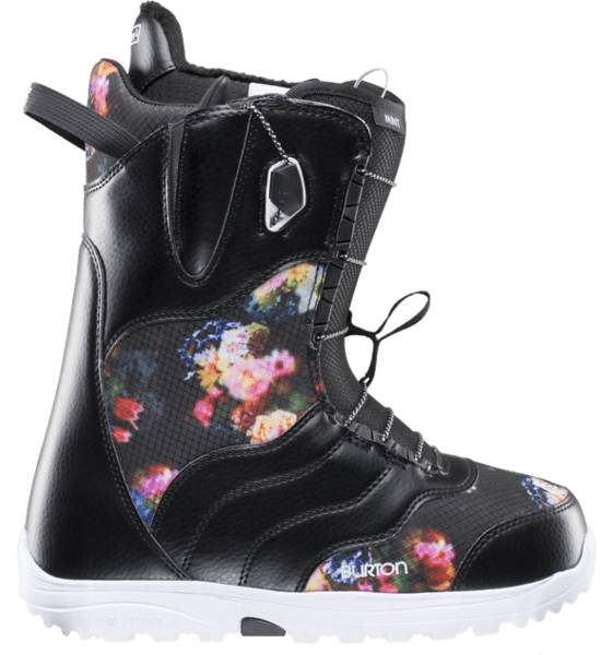 Burton Lumilautakengät Burton W Mint BLACK/MULTI (Sizes: US 9.5)