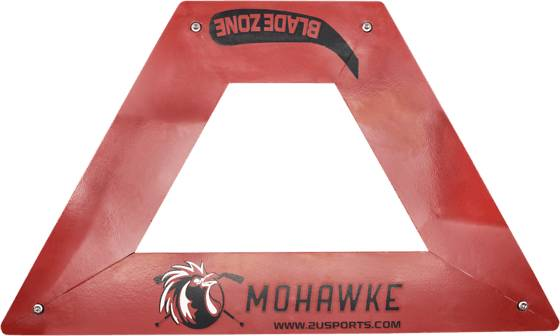 Mohawke Triangle Pro Passare Blade Zone Jääkiekkotarvikkeet RED (Sizes: No Size)