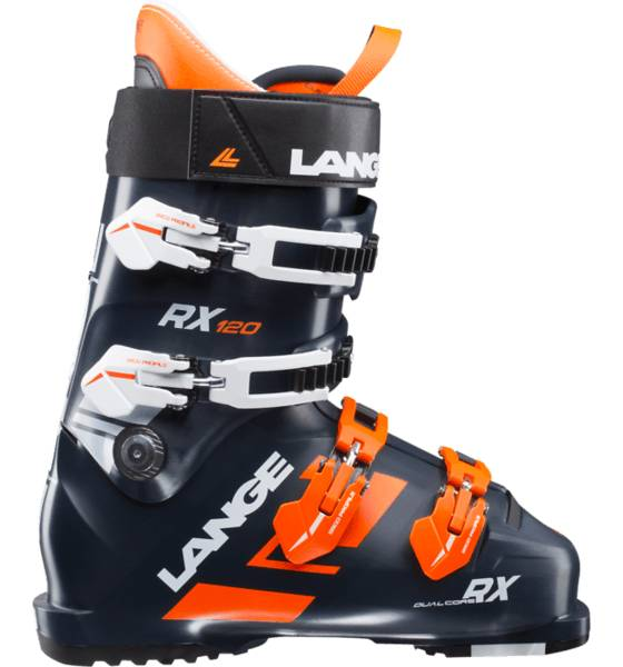 Lange Laskettelumonot Lange Rx 120 BLACK BLUE/ORANGE (Sizes: 27.5)