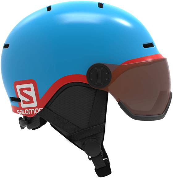 Salomon Laskettelukypärät Salomon Grom Visor BLUE (Sizes: M)