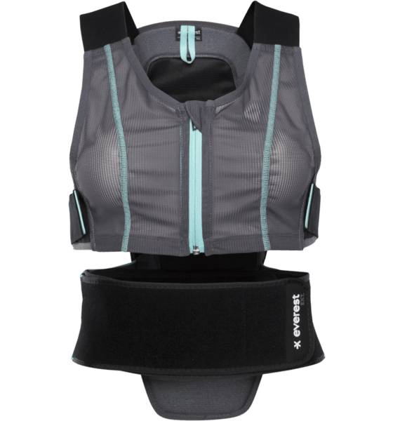 Everest Laskettelutarvikkeet Everest W Ext Backpro D30 GREY (Sizes: M/L)