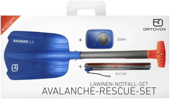 Ortovox Laskettelutarvikkeet Ortovox Ava Rescue Kit Z+ BLUE OCEAN (Sizes: One size)