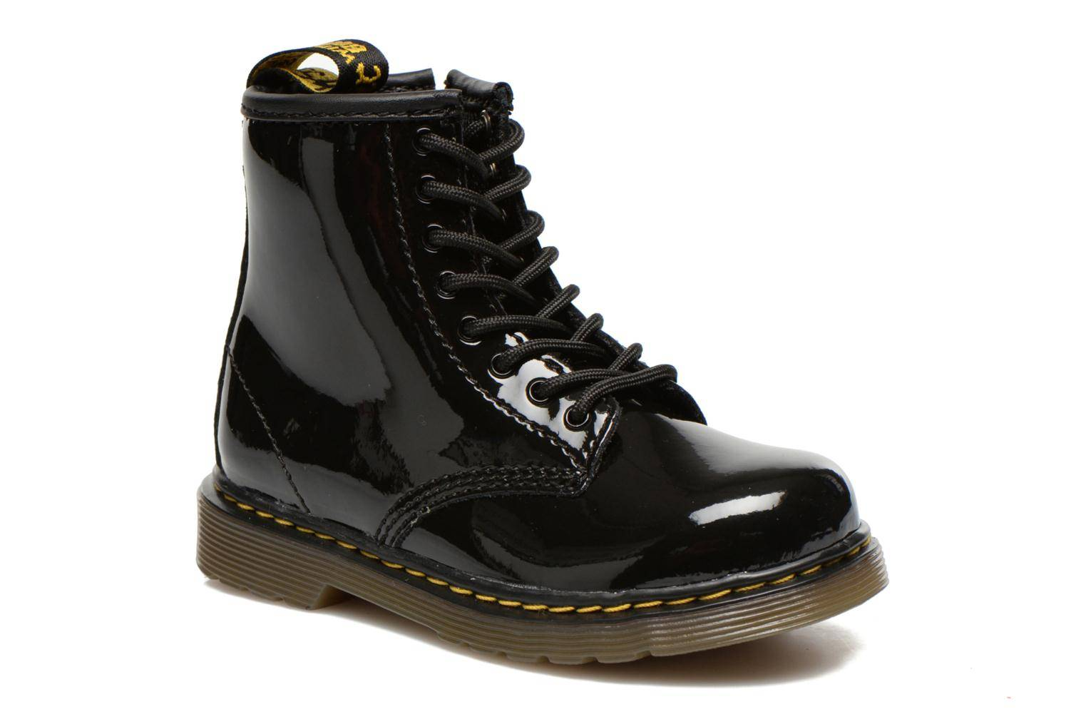 Dr. Martens - Infants Brooklee Lace Boot by  -Nilkkurit Lapsille  / Musta