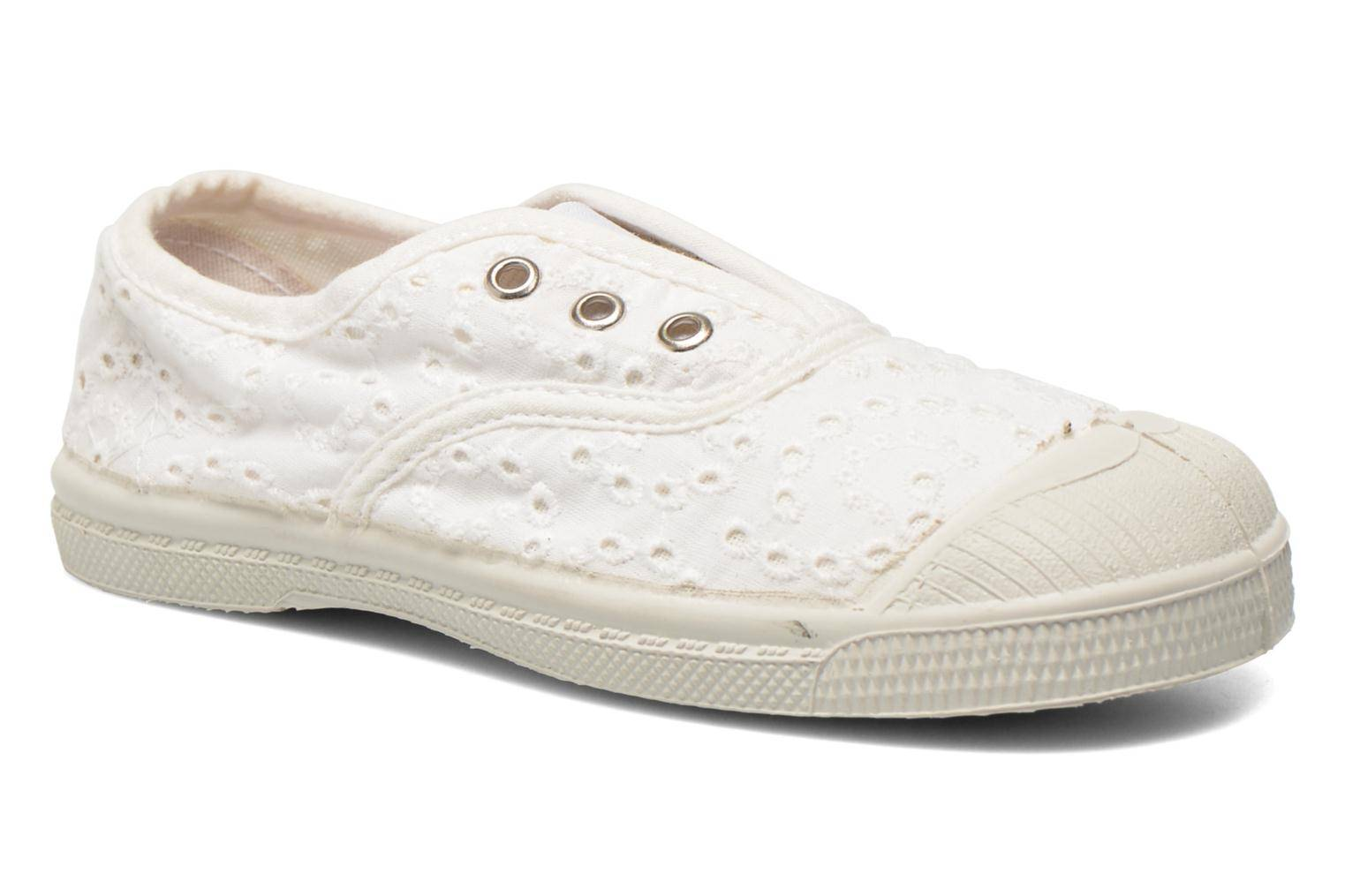 Bensimon - Tennis Elly Broderie Anglaise E by  -Tennarit Lapsille  / Valkoinen