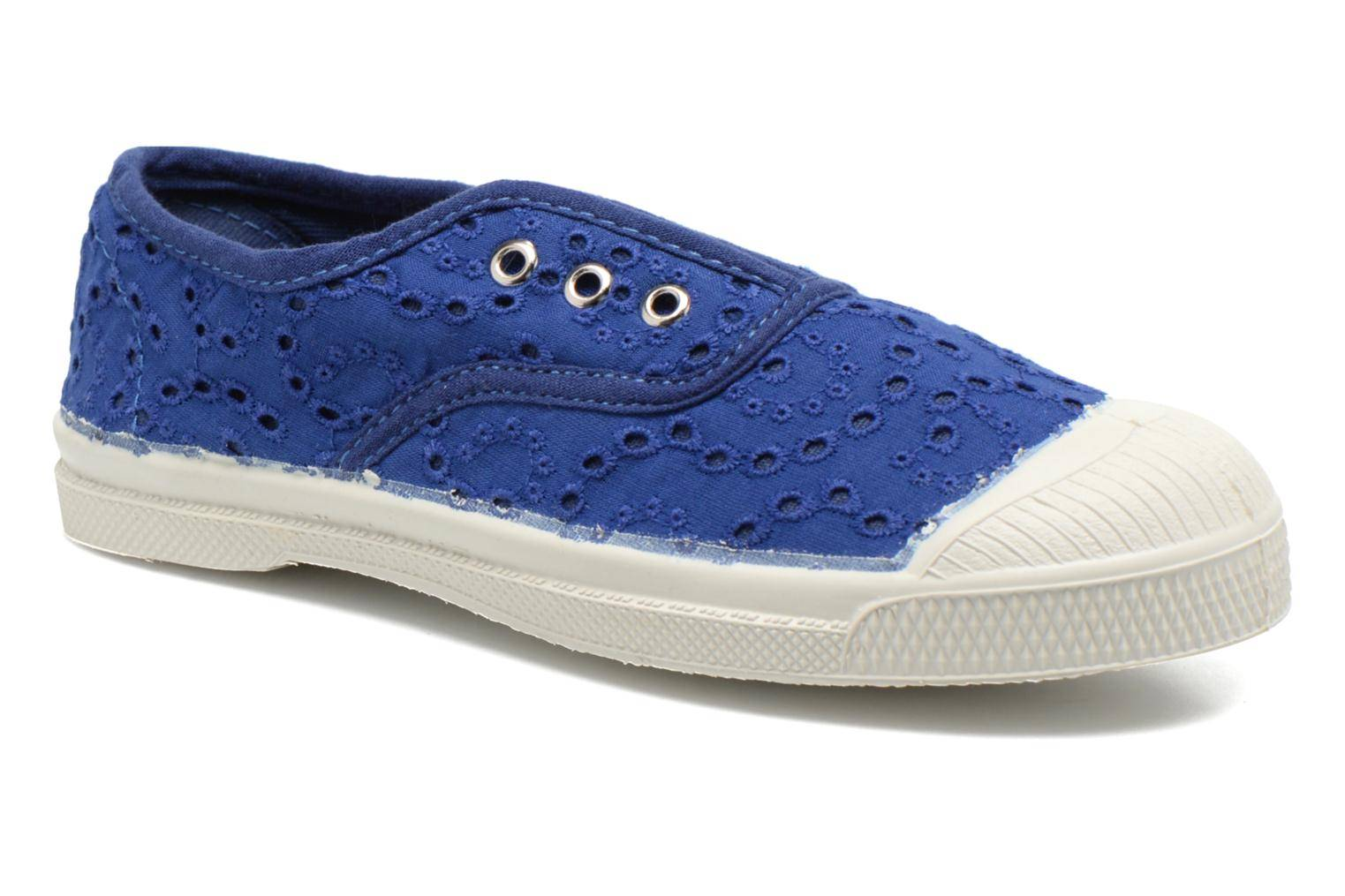 Bensimon - Tennis Elly Broderie Anglaise E by  -Tennarit Lapsille  / Sininen