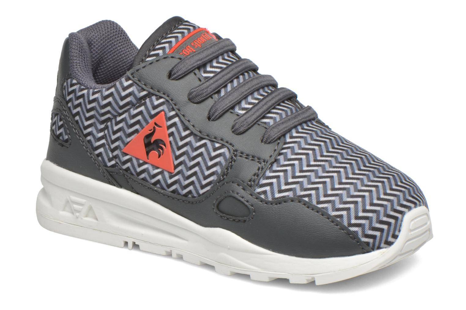 Le Coq Sportif - Lcs R900 Inf Geo Print by  -Tennarit Lapsille  / Harmaa