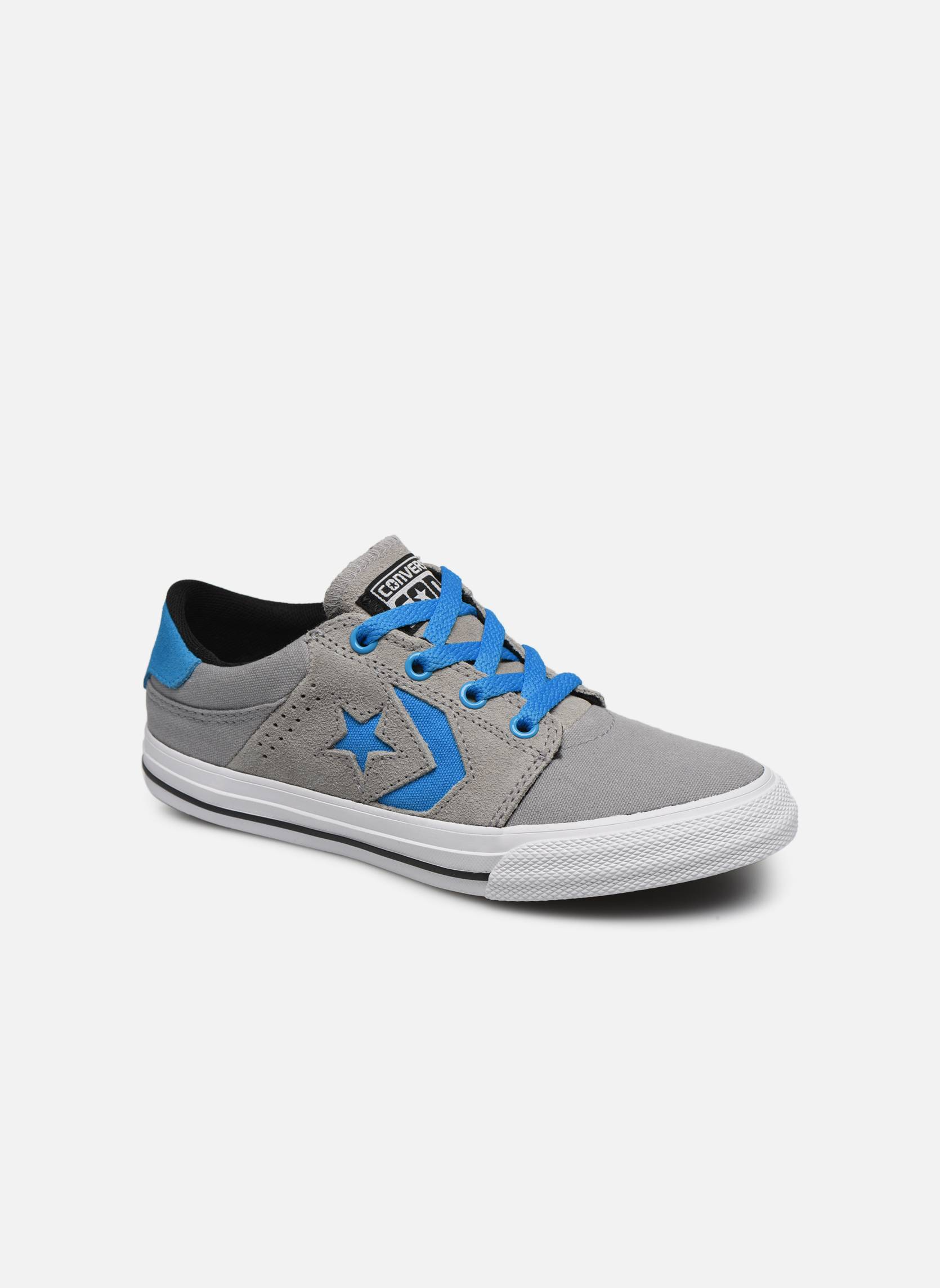 Converse - Cons Tre Star Ox by  -Tennarit Lapsille  / Harmaa