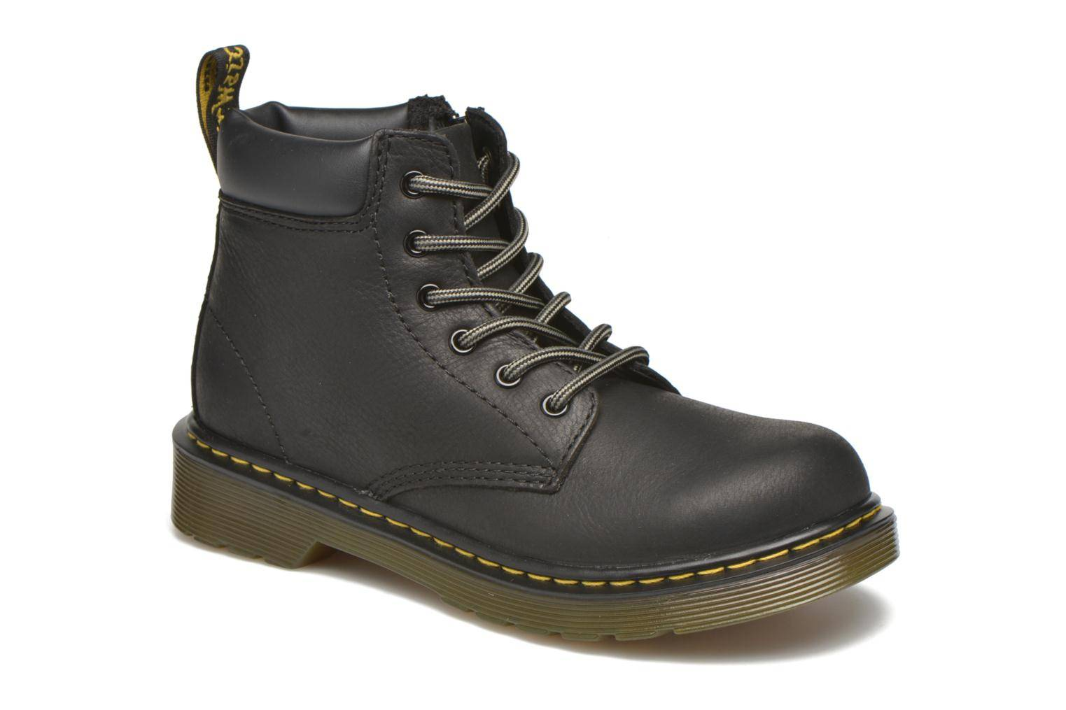 Dr. Martens - Juniors Padley Padded Collar Boot by  -Nilkkurit Lapsille  / Musta