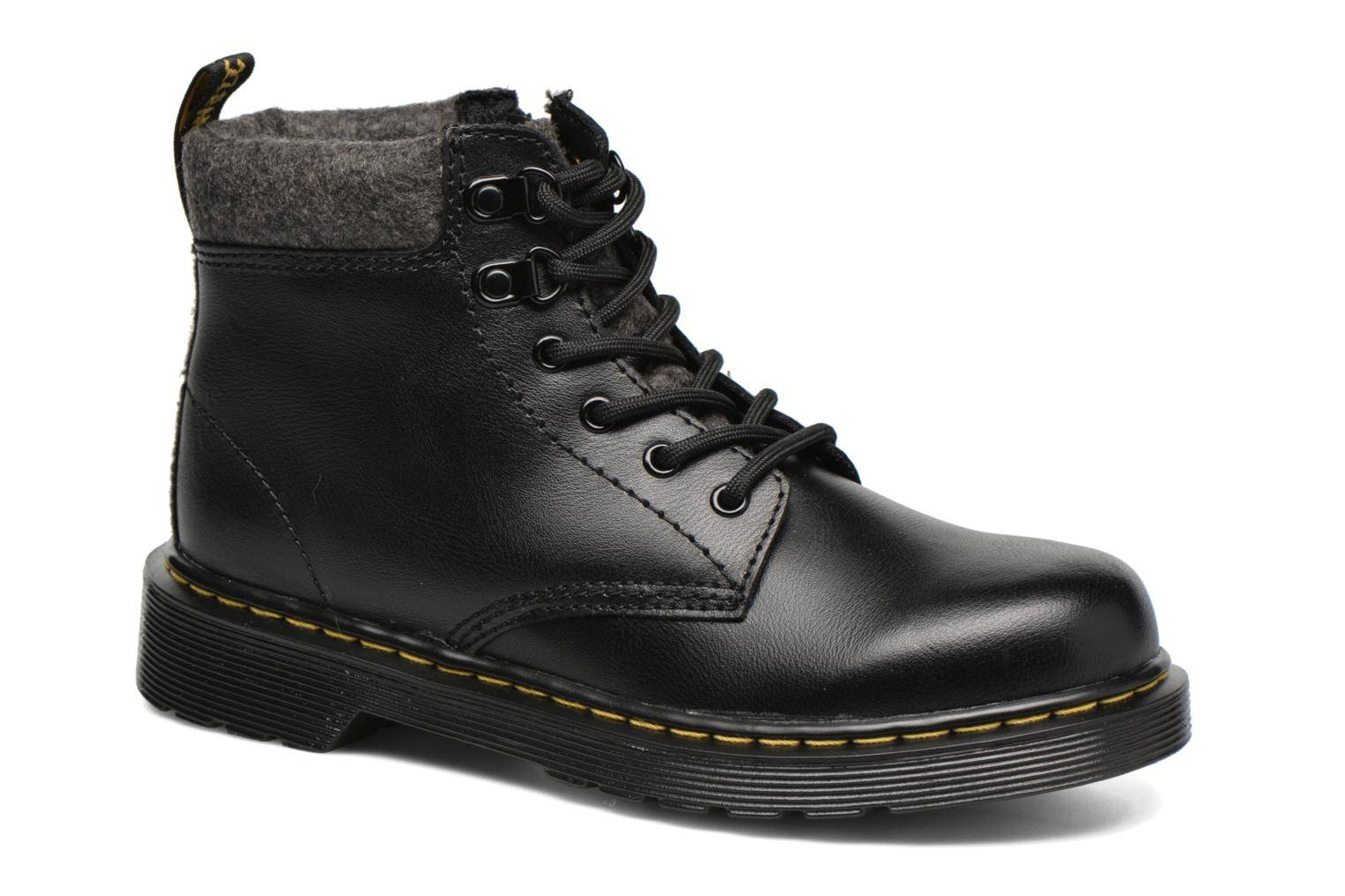 Dr. Martens - Juniors Padley Mix Padded Collar Boot by  -Nilkkurit Lapsille  / Musta
