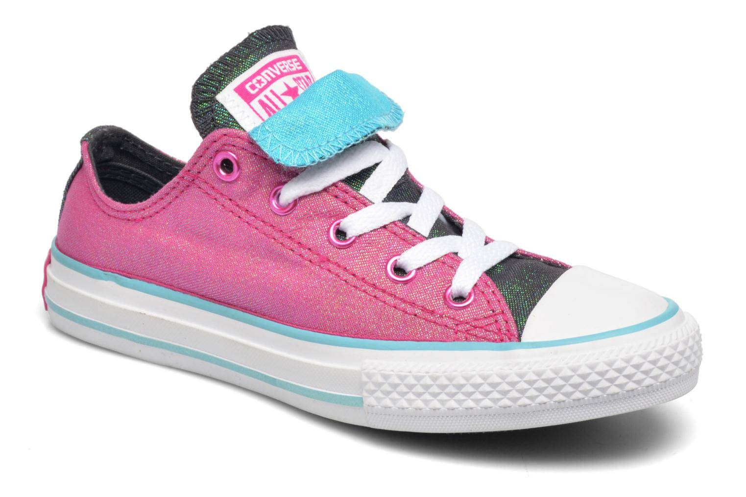 Converse - Chuck Taylor All Star Double Tongue Ox Kid by  -Tennarit Lapsille  / Liila