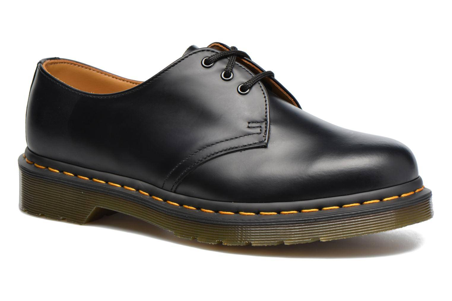 Dr. Martens - 1461 w by  - Nauhakengät Naisille  / Musta