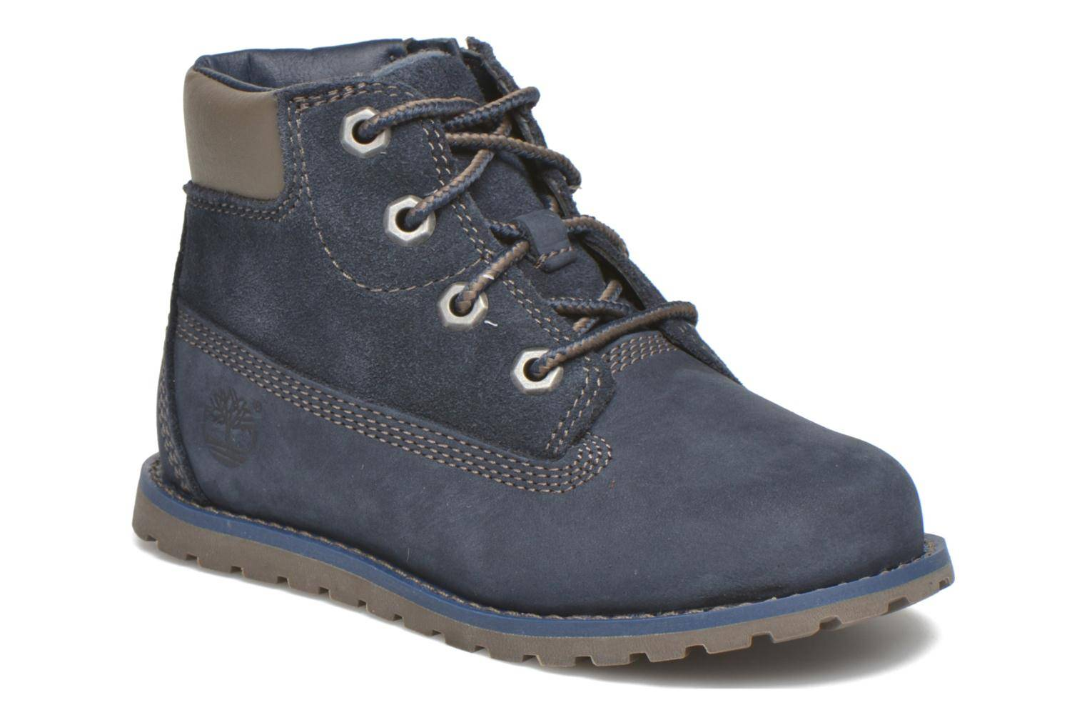 Timberland - Pokey Pine 6In Boot with by  -Nilkkurit Lapsille  / Sininen