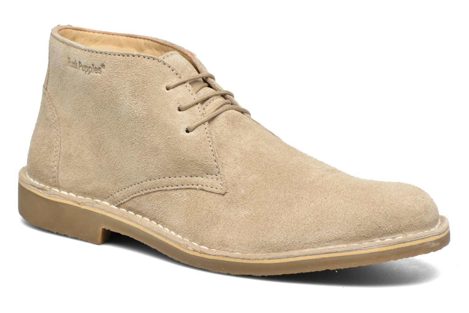 Hush Puppies - Lord by  - Nauhakengät Miehille  / Beige