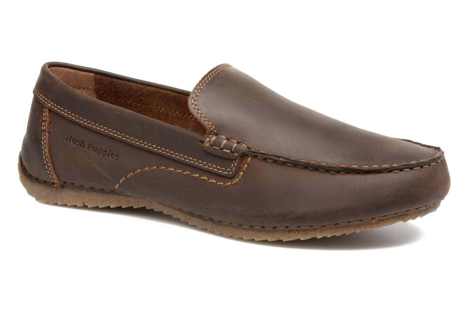 Hush Puppies - Riban by  - Loaferit Miehille  / Ruskea