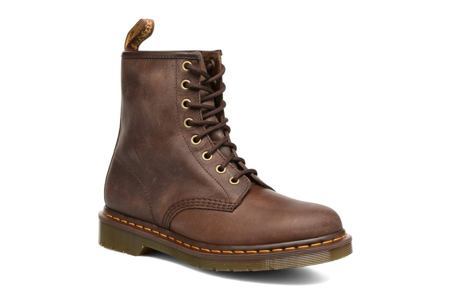 Dr. Martens - 1460 W by  - Nilkkurit Naisille  / Ruskea