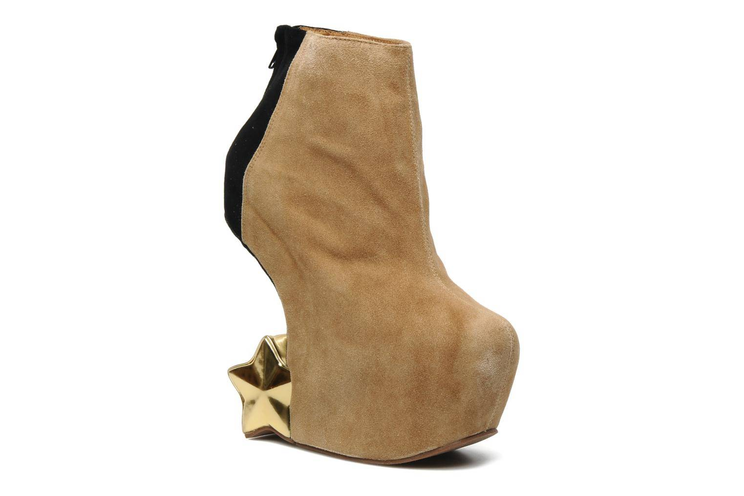 Jeffrey Campbell - NITEMATE (WITH GOLD STAR) by  - Nilkkurit Naisille  / Beige