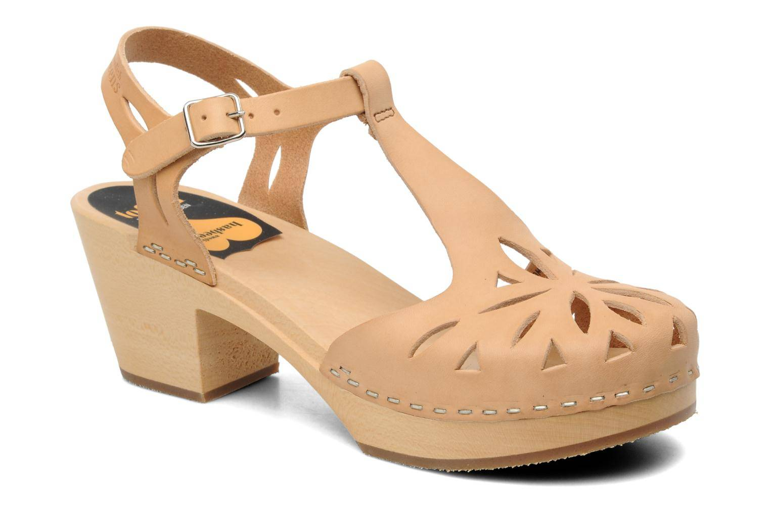 Swedish Hasbeens - Lacy Sandal by  - Sandaalit Naisille  / Beige