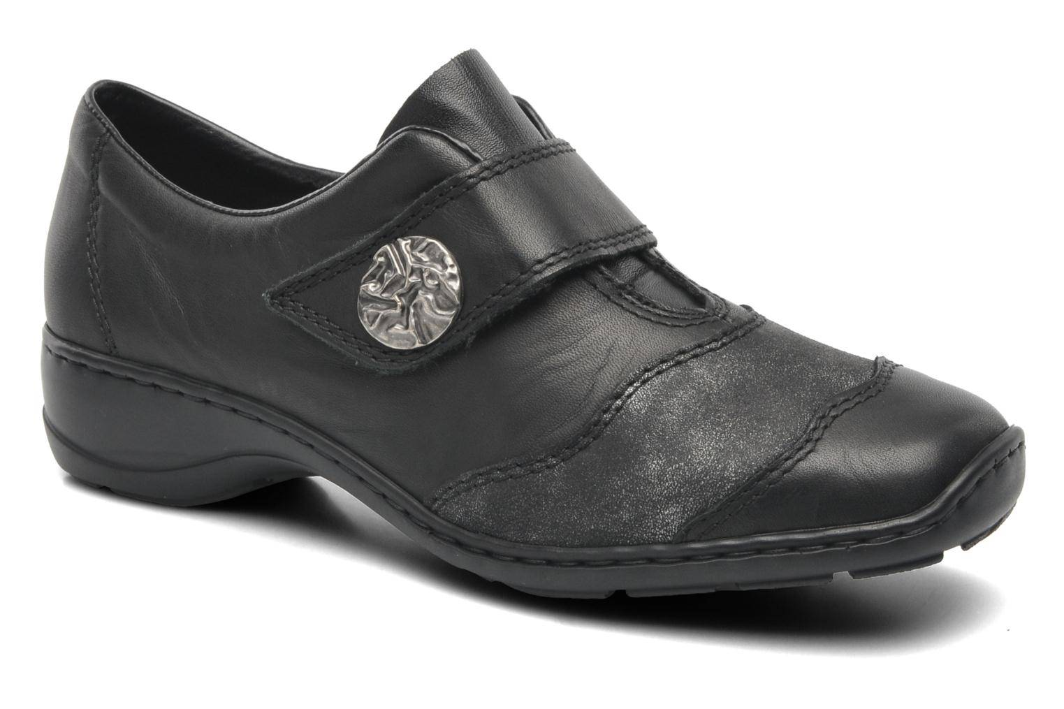 Rieker - Gail 58398 by  - Loaferit Naisille  / Musta