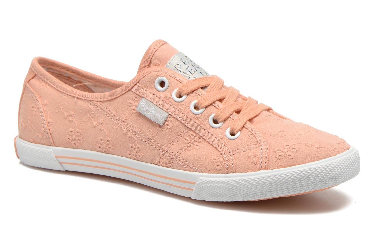Pepe jeans - Aberlady Anglaise by  - Tennarit Naisille  / Oranssi