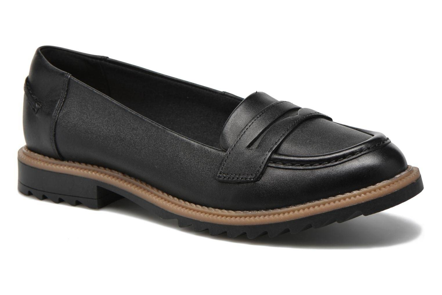 Clarks - Griffin Milly by  - Loaferit Naisille  / Musta