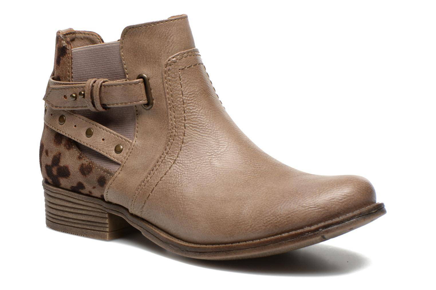 Mustang shoes - Lienos by  - Nilkkurit Naisille  / Beige