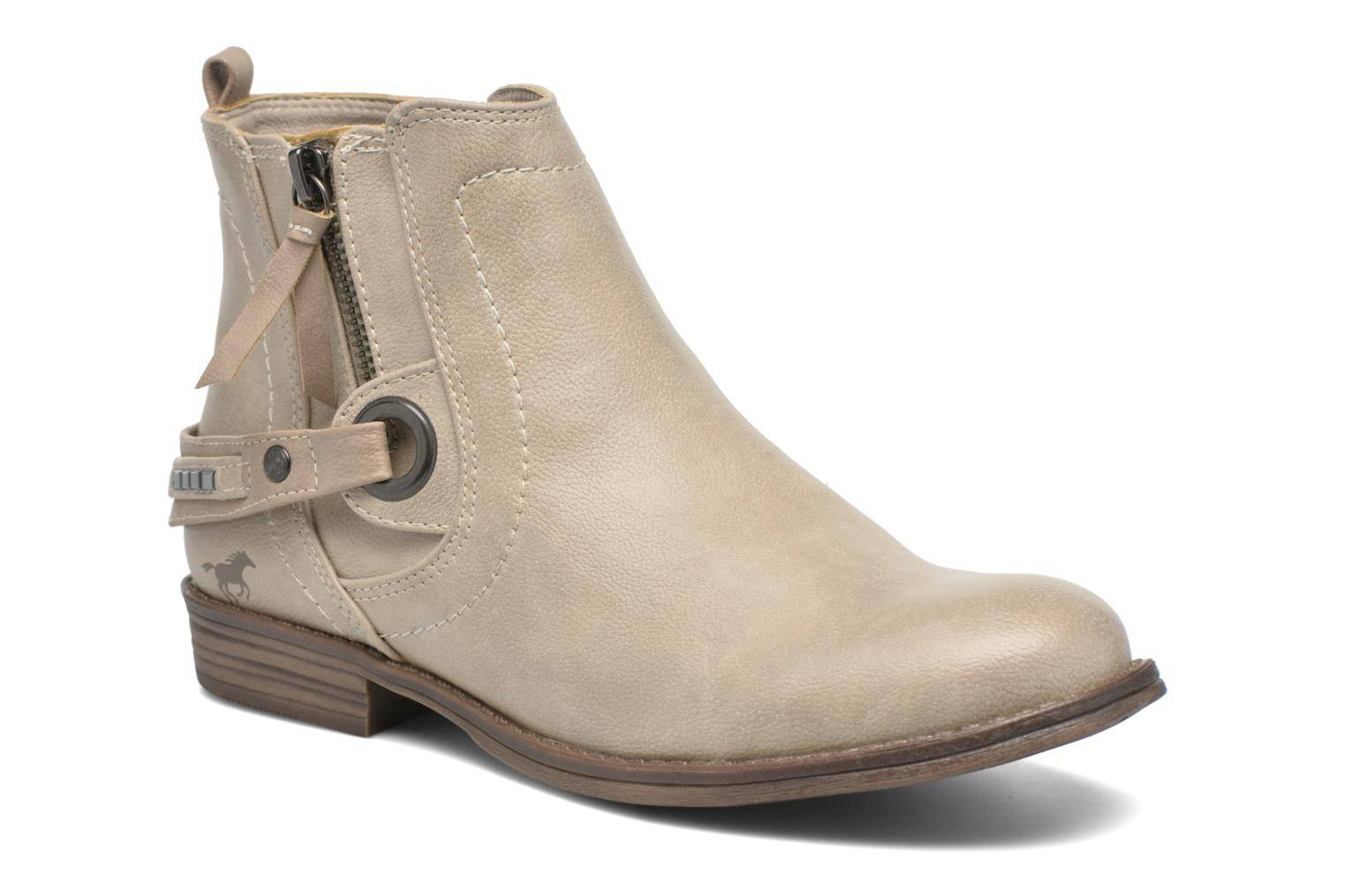 Mustang shoes - Isauris by  - Nilkkurit Naisille  / Beige