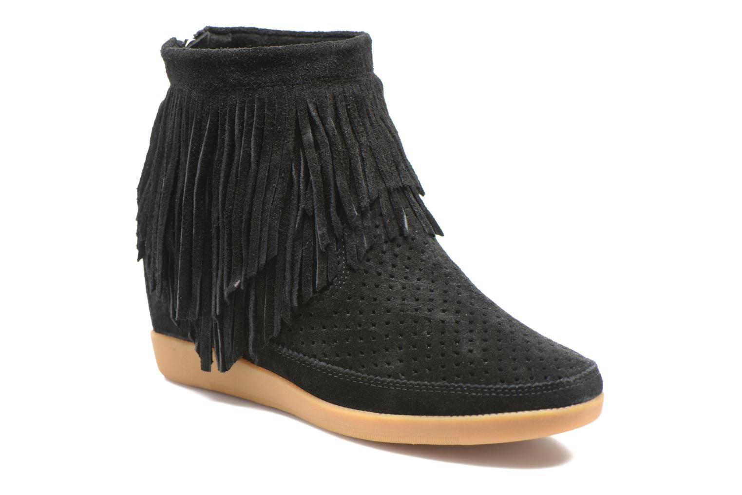 Shoe the bear - Emmy Fringes by  - Nilkkurit Naisille  / Musta