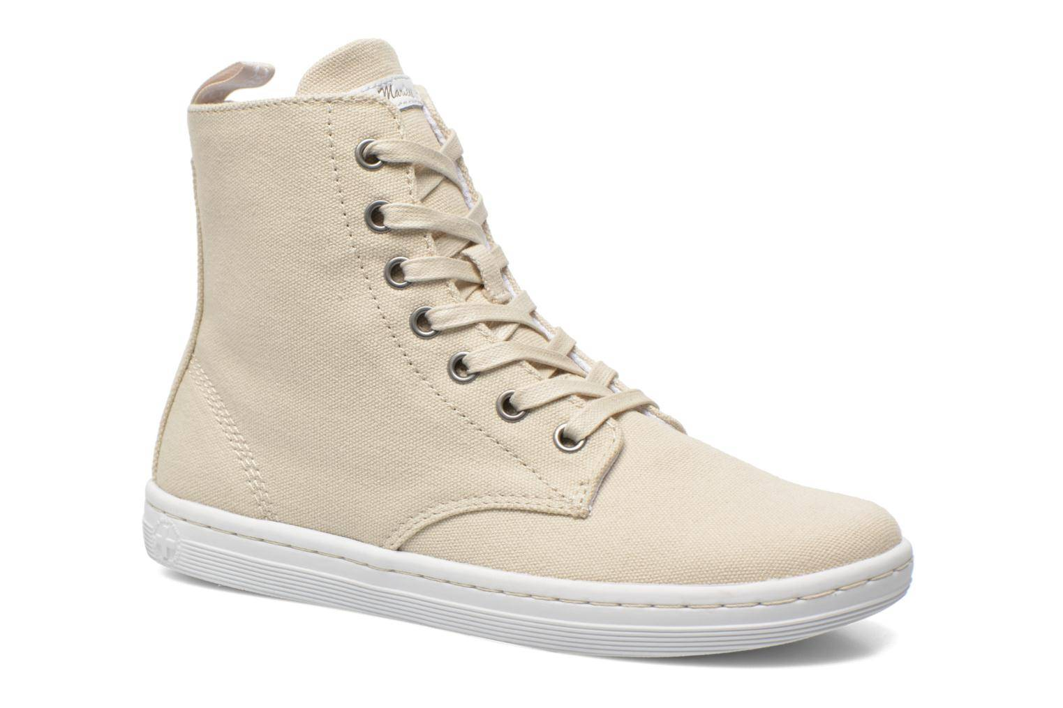 Dr. Martens - Ecletic Hackney 7 Eye Boot 3J03 by  - Tennarit Naisille  / Beige