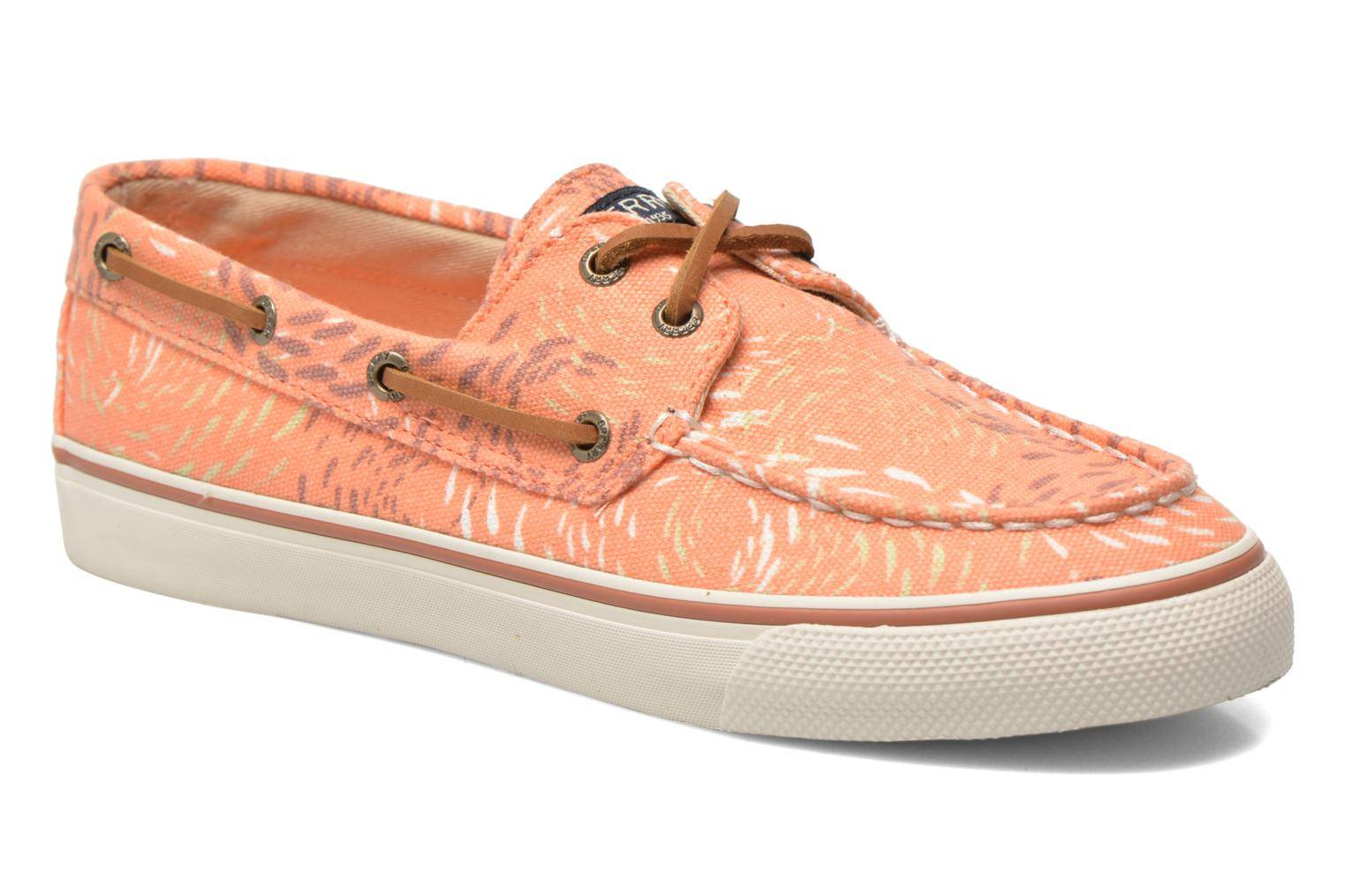 Sperry Top-Sider - Bahama Fish Circles by  - Nauhakengät Naisille  / Oranssi