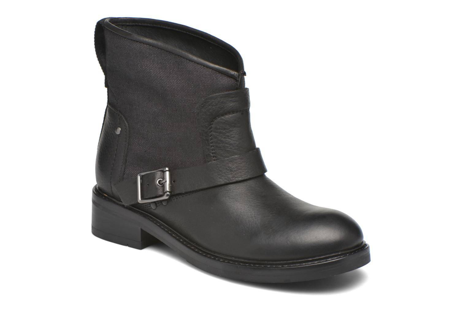 G-Star - Leon boot W by  - Nilkkurit Naisille  / Musta