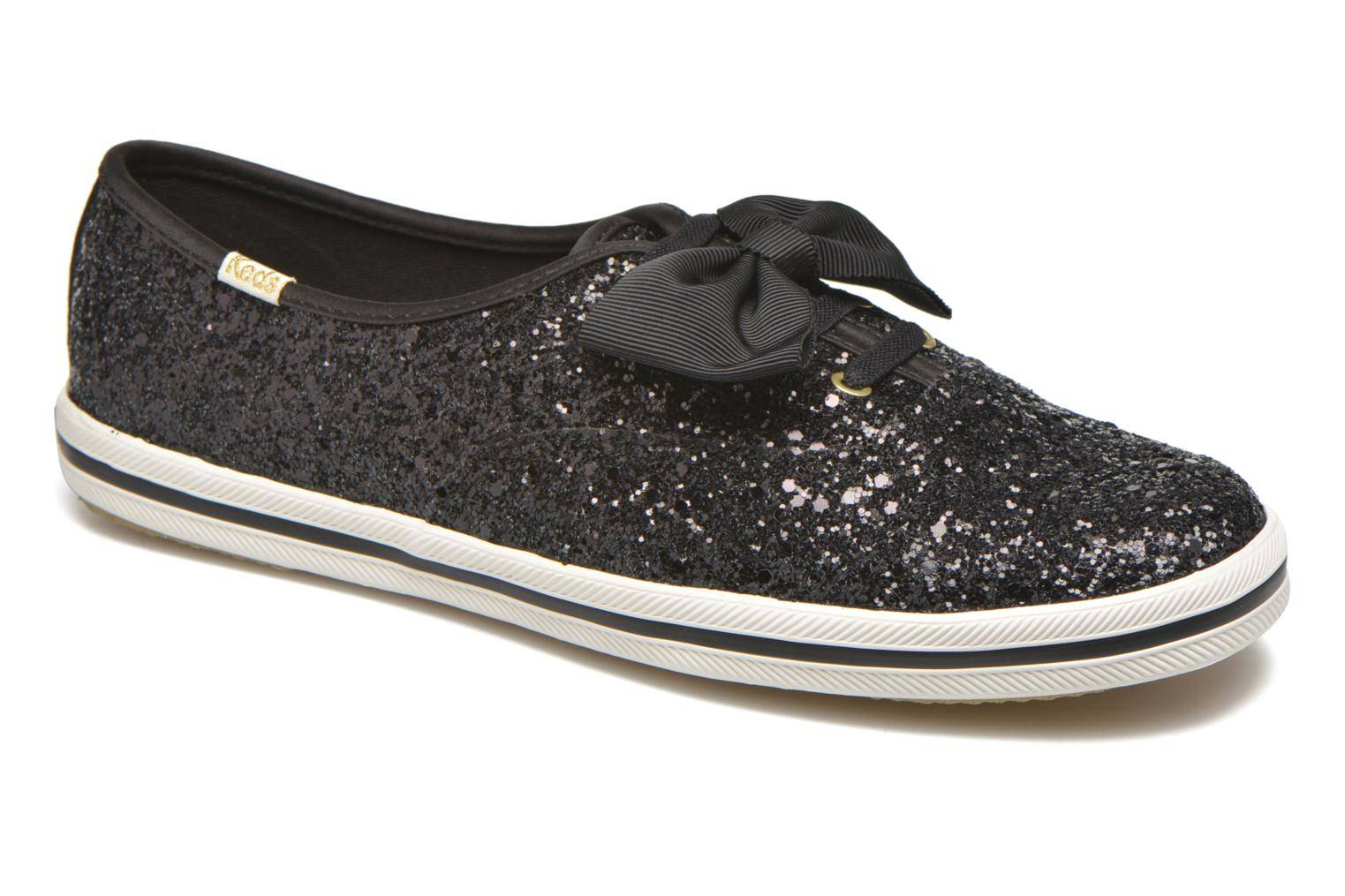 Keds - Ch Laceless Kate Spade Tuxedo Bow Glitter by  - Tennarit Naisille  / Musta