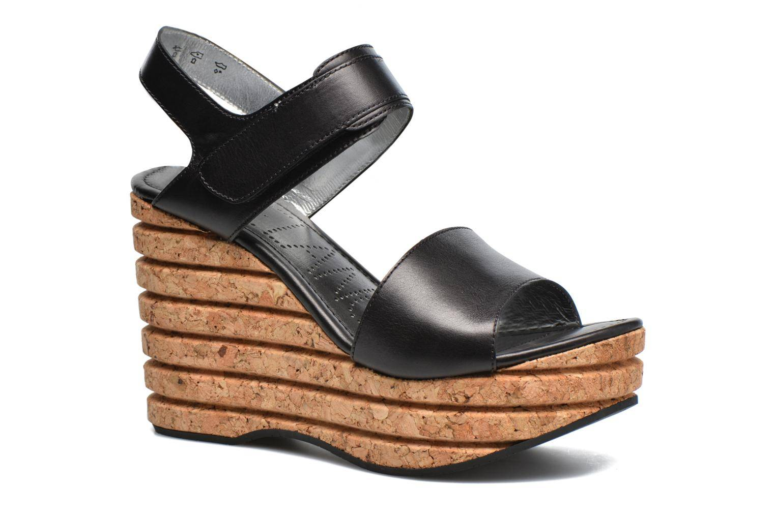 Free Lance - Eny 7 Sandal Velcro by  - Sandaalit Naisille  / Musta