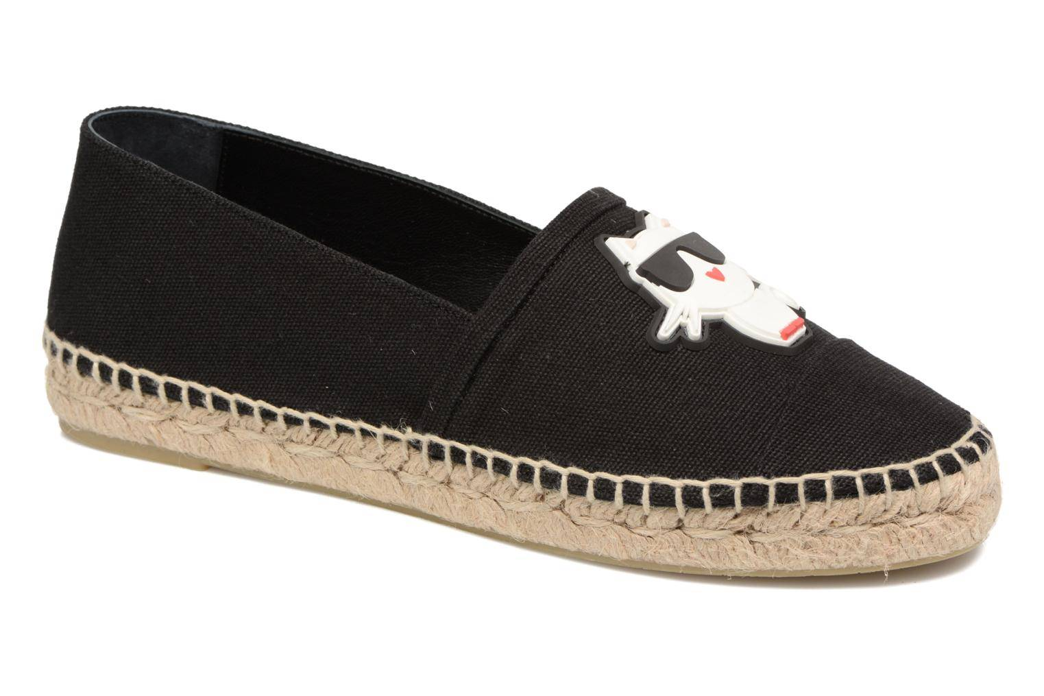 Karl Lagerfeld - Ikonic Espadrille by  - Espadrillot Naisille  / Musta