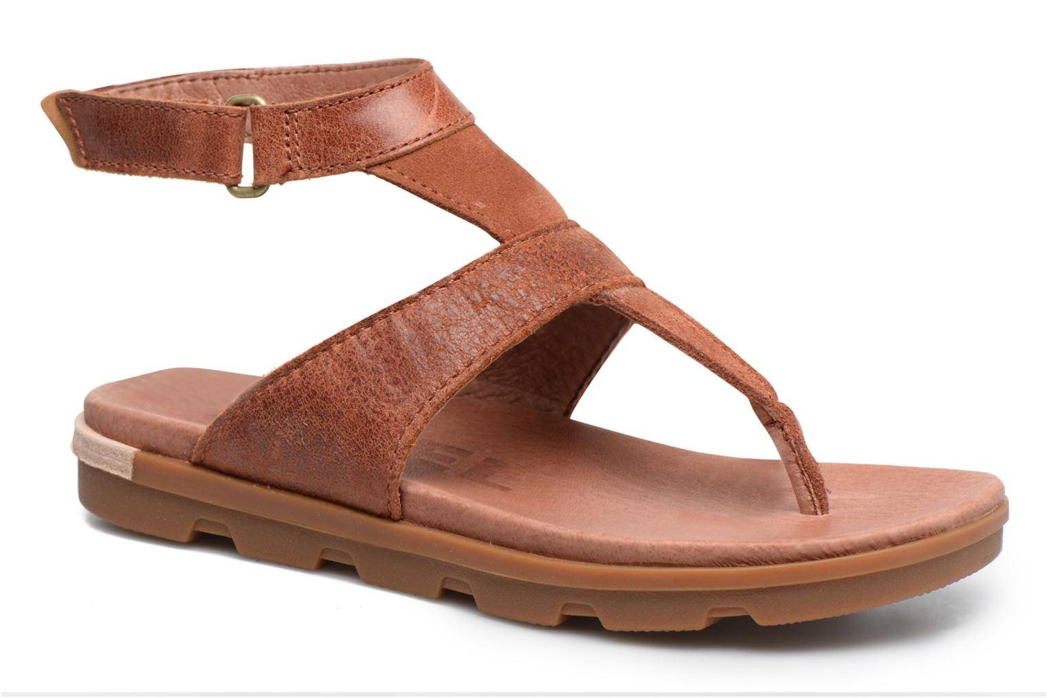 Sorel - Torpeda Ankle Strap by  - Sandaalit Naisille  / Ruskea