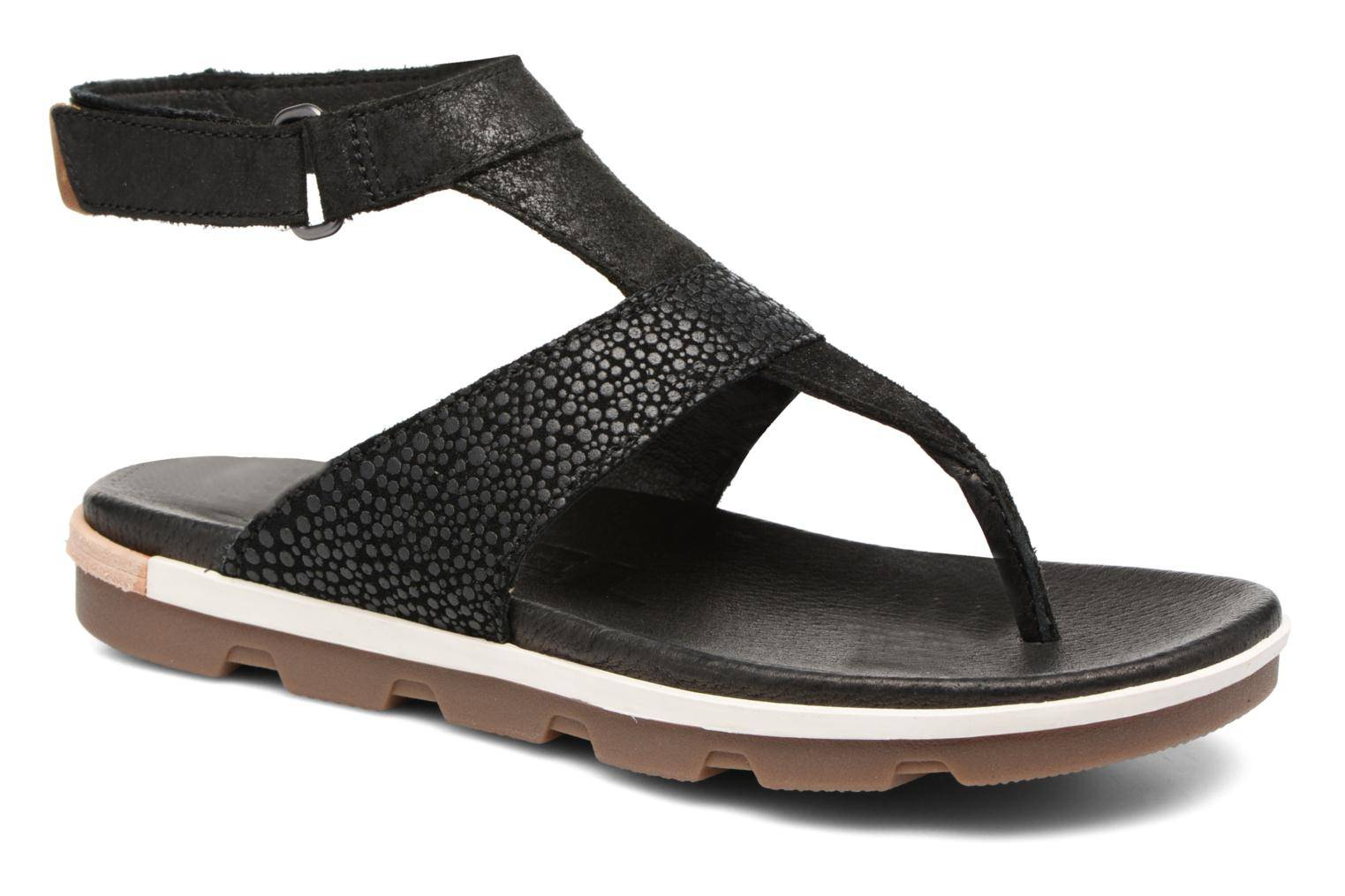 Sorel - Torpeda Ankle Strap by  - Sandaalit Naisille  / Musta