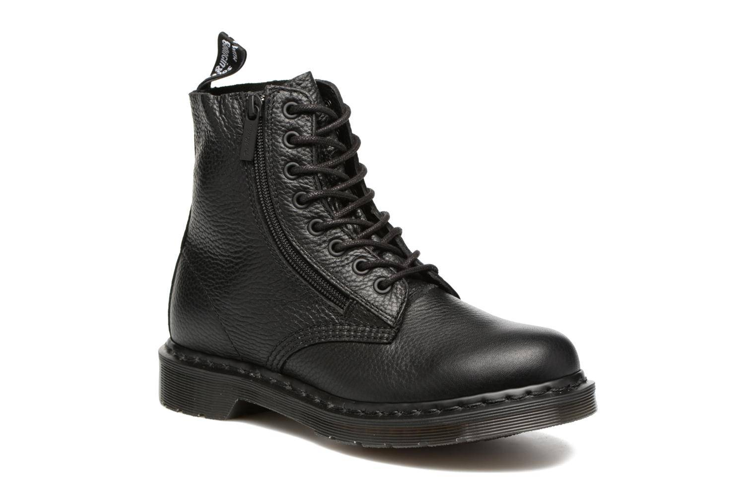 Dr. Martens - Pascal w/Zip by  - Nilkkurit Naisille  / Musta