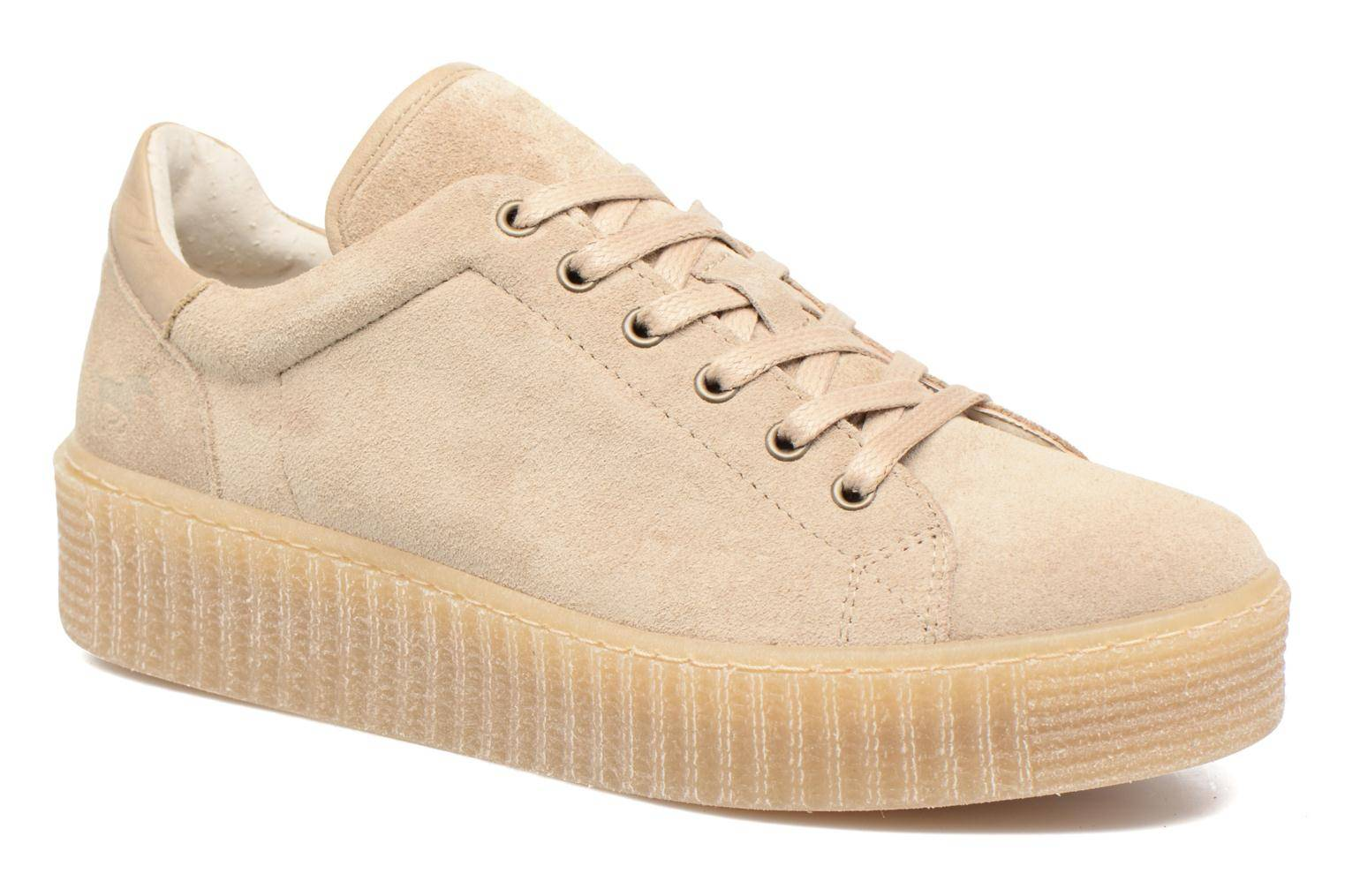 Mustang shoes - Cara by  - Tennarit Naisille  / Beige