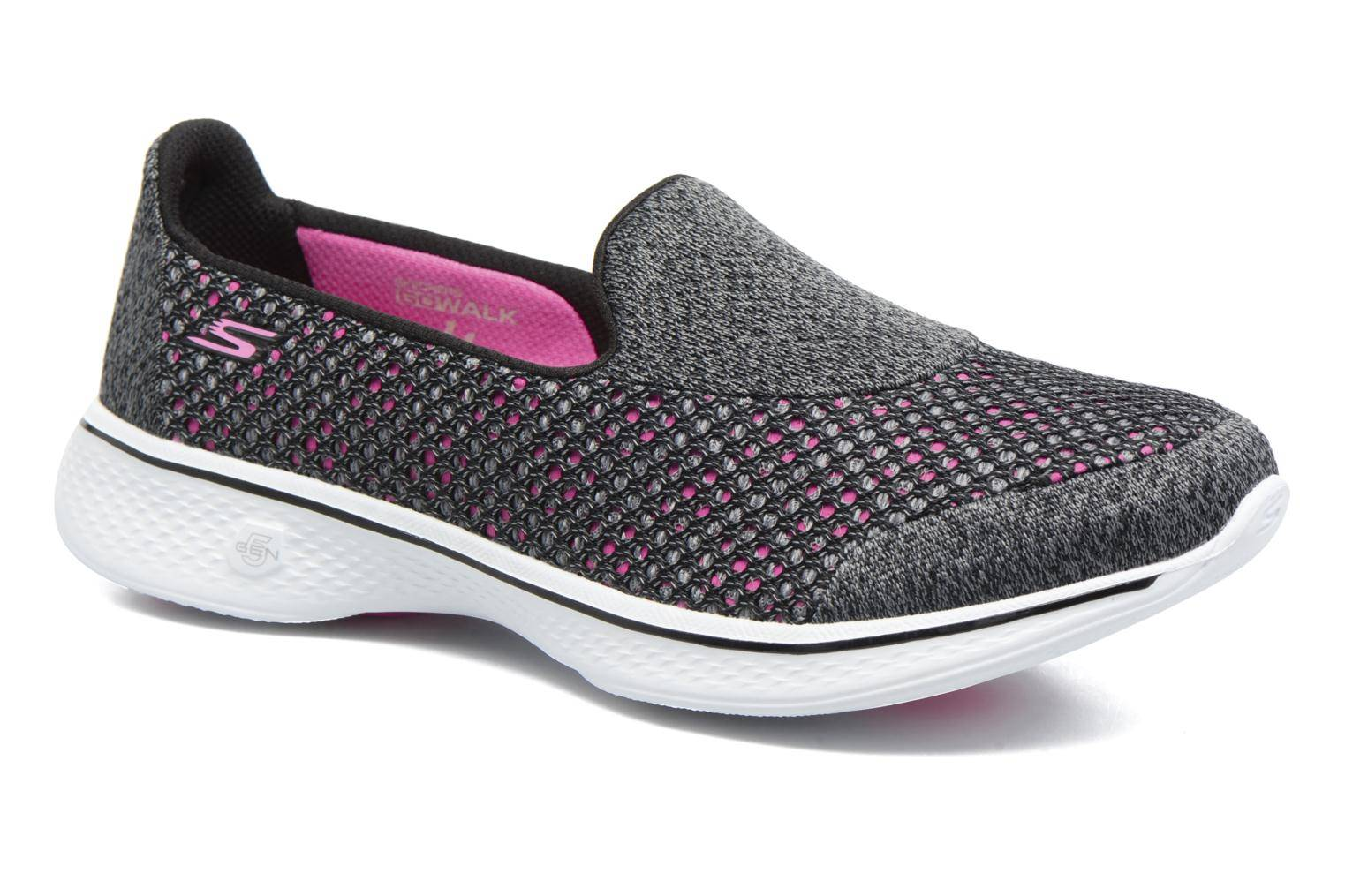 Skechers - GO Walk 4 Kindle by  - Tennarit Naisille  / Musta