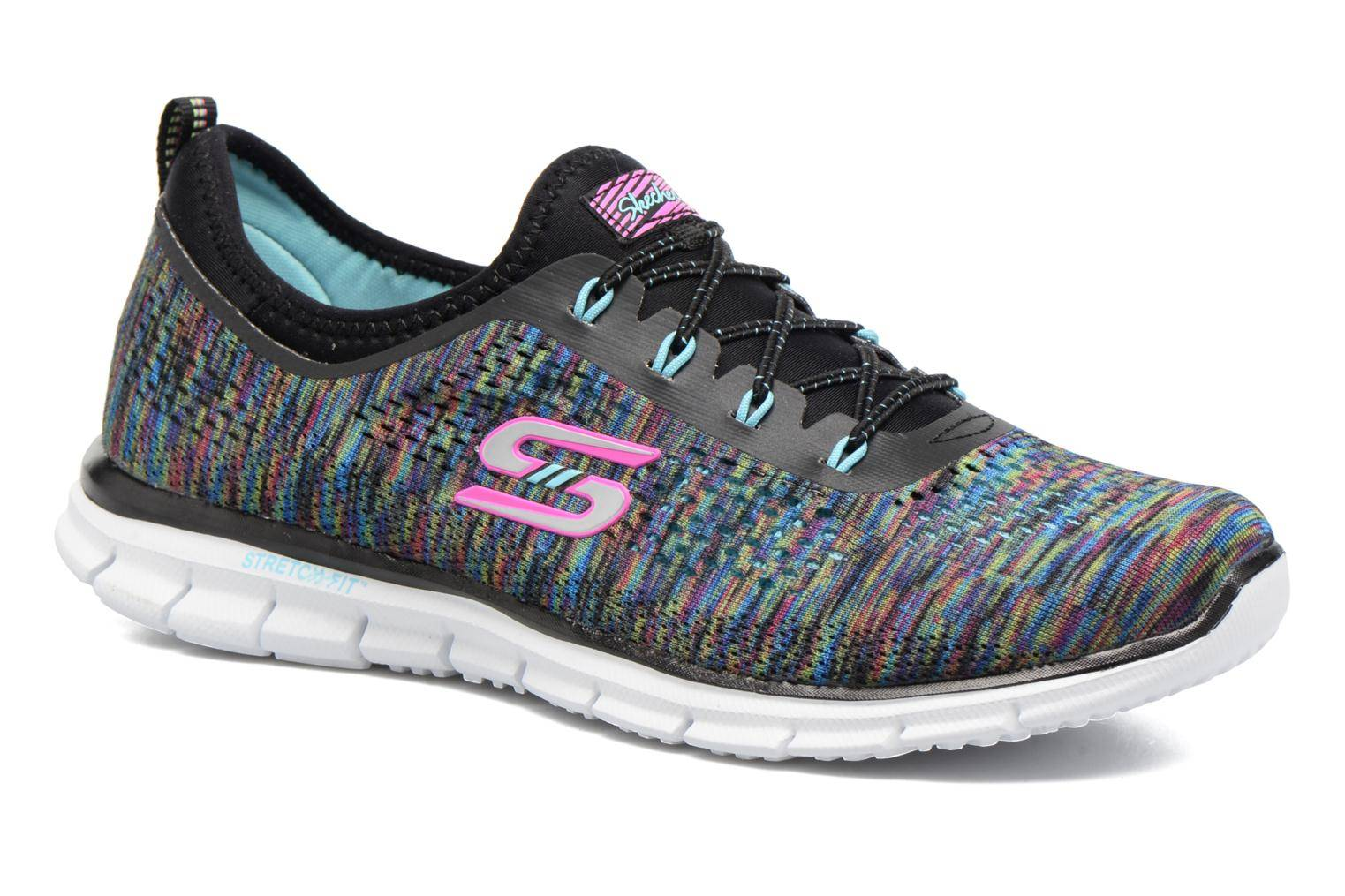 Skechers - Glider Deep Space by  - Tennarit Naisille  / Musta