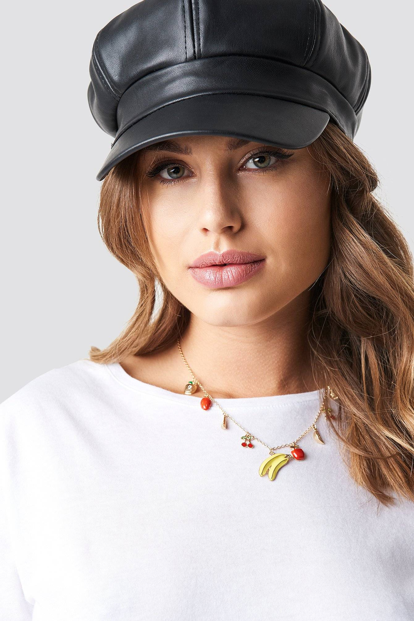 NA-KD Accessories Mixed Fruits Necklace - Gold