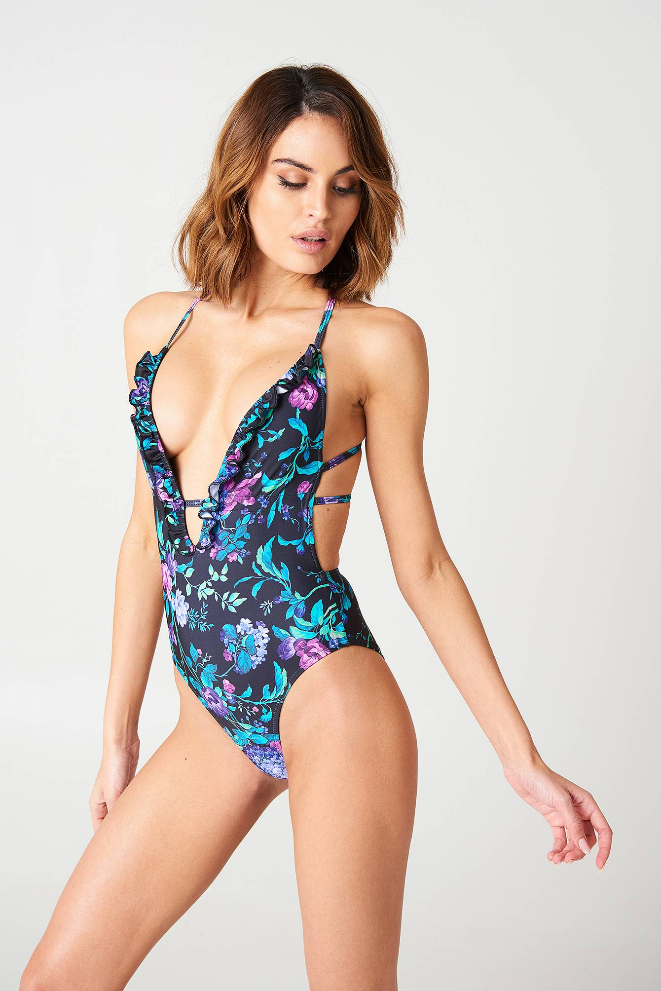 Motel Rocks Jelita Swimsuit - Multicolor